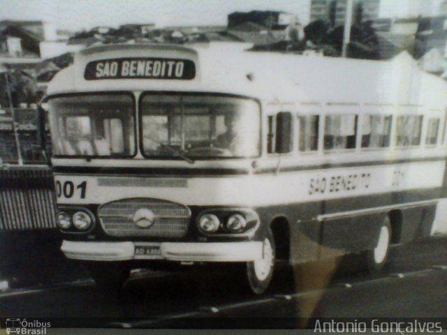 Ônibus da empresa Empresa São Benedito, carro 001, carroceria Carbrasa 333. Foto na cidade de São Luís-MA por Antonio Gonçalves, publicada em 20/04/2013 16:14:23.