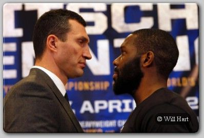 "Klitschko, Jennings Talk About Madison Square Garden Clash - IBF/WBA/WBO/IBO Heavyweight Champion Wladimir Klitschko and top rated challenger Bryant Jennings along with their respective teams held the Kick-Off Press conference for their highly anticipated battle set for Saturday, April 25 at Madison Square Garden, ""The World's Most Famous Arena."" ""The...- http://www.saddoboxing.com/45016-wladimir-klitschko-bryant-jennings.html"