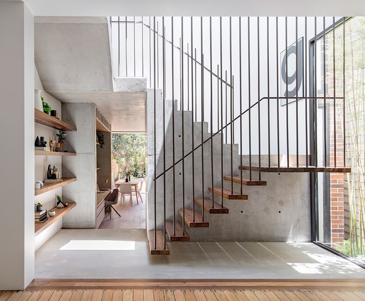 A reworking of a two bedroom cottage into a luxury four bed three bathroom family home in the heart of Balmain. The house retains its classic character with most features of the original cottage retained with a modern off form concrete pavilion added to the rear.  Architect – Co-ap – contact Will Fung
