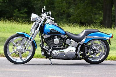 biker excalibur II: 2004 Harley-Davidson Softail Springer by southeast custom cycles