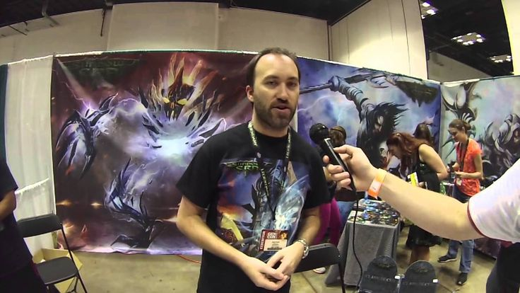 Bower's Gen Con 2014 Bonanza: Shadow Era Bower's Game Corner interviews the creator of the tcg Shadow Era