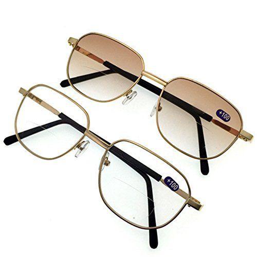 Haodasi 2 hommes pack et femmes bifocales lunettes de lecture +1.0 +1.5 +2.0 +2.5 +3.0 +3.5: Description? Eyewear Type: Reading glasses…