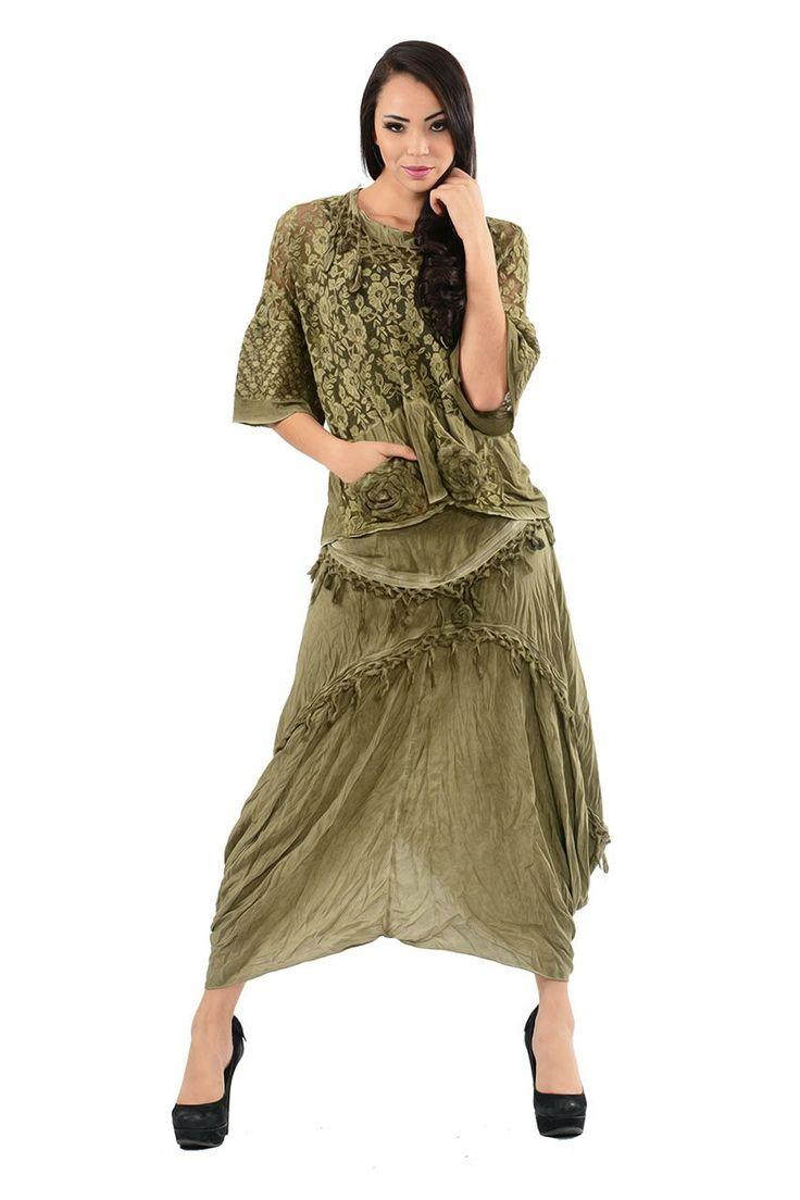 Otantik Gülnar Etek-Elbise Modelleri - Bayan Giyim
