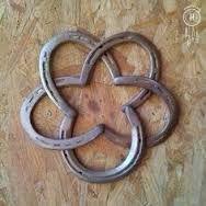 Resultado de imagen de manualidades con herraduras de caballos