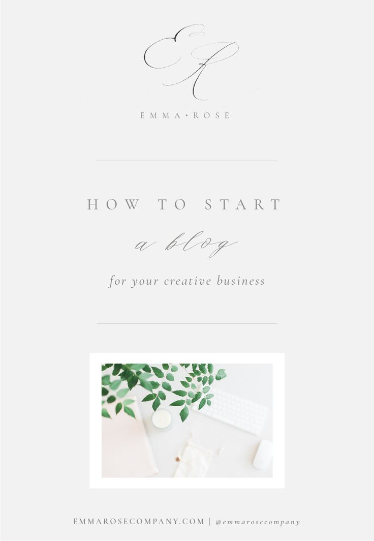 How to Start a Blog for your Creative Business | Emma Rose Company | blogging tips and tricks Squarespace_ERC Blog Template.jpg
