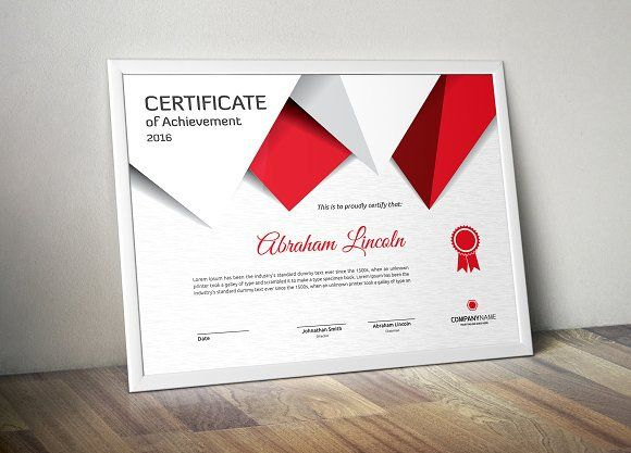 1000+ ideas about Certificate Of Achievement Template on ...