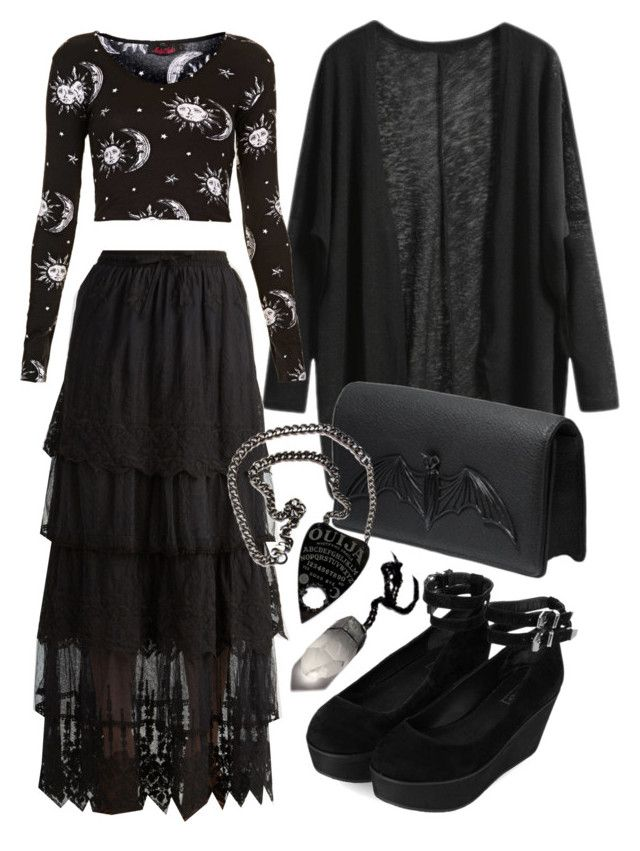 mystic by smo-mo on Polyvore featuring mode, Motel, Topshop, Bernard Delettrez, women's clothing, women's fashion, women, female, woman and misses