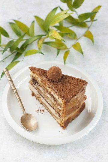 #tort #tiramisu z kawowymi rodzynkami to propozycja na popołudniowy deser lub wyjątkową okazję z rodziną! #coffecake #cake #delektujemy #bakalland
