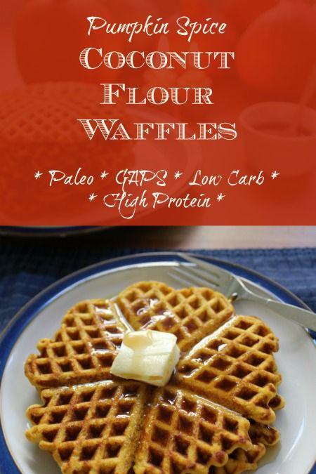 pumpkin-spice-coconut-flour-waffles