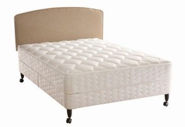 Sealy Essentials Support Regular King Size Divan Bed Zero Deflection spring system for firmest beds ever from £428.99