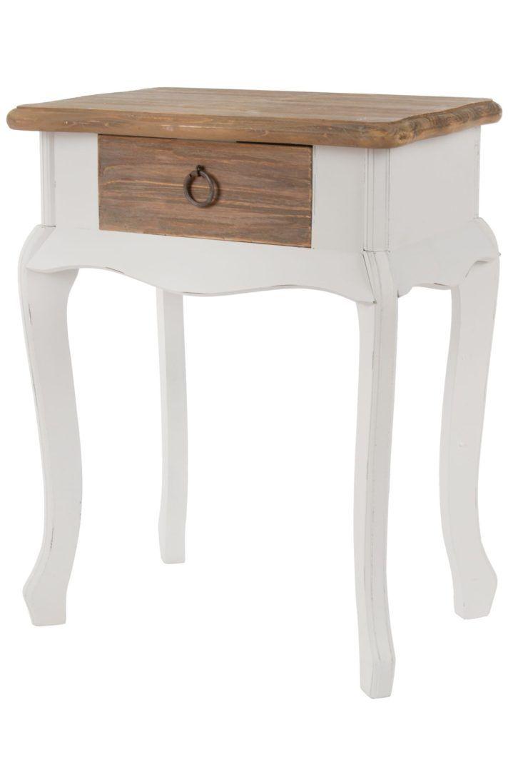 Schlafzimmer Holz Beistelltisch Schlafzimmer Weiss Braun Weia Holz