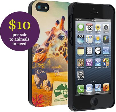 How can you make a difference to Australia's Wildlife?  $10 from every case sold will go straight towards helping animals in need. #sprout #wildlifewarriors #Australiazoo #smartphone #iphone