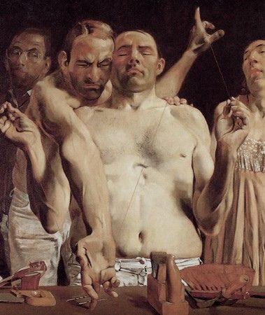 Johannes Grützke, Heaven and Hell, 1980