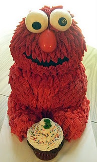 Elmo Cake Decorating Instructions : 3D Elmo Cake Tutorials Pinterest Gossip news, Cakes ...