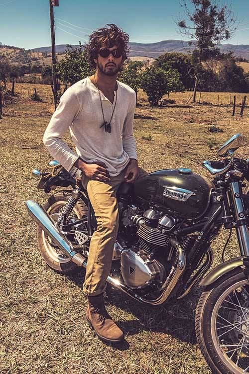 Marlon Teixeira - damen is a biker au