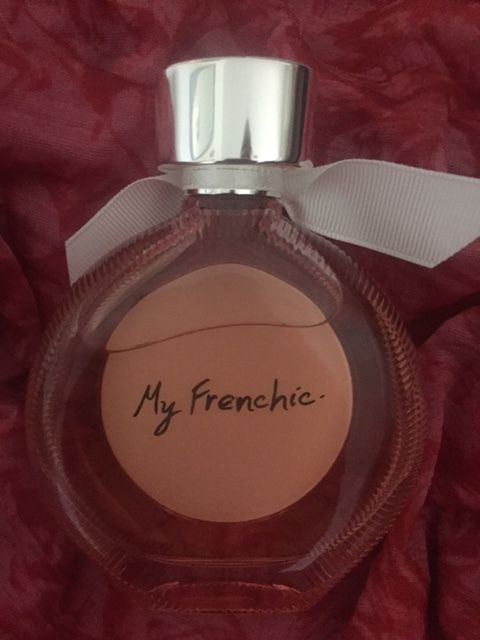 Mademoiselle Rochas fragrance - check out the inscription on the back!