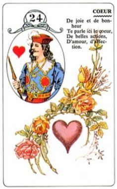 Predicciones con Le Petit Lenormand: Carta-24 EL CORAZON