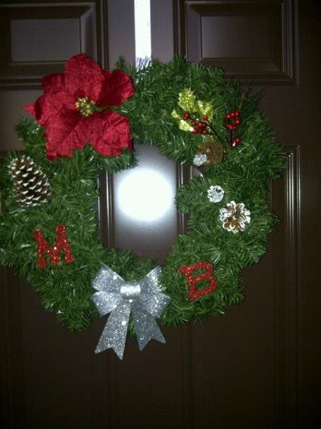 Christmas Wreath Made Special For You by BurrowsOfAccessories, $45.00