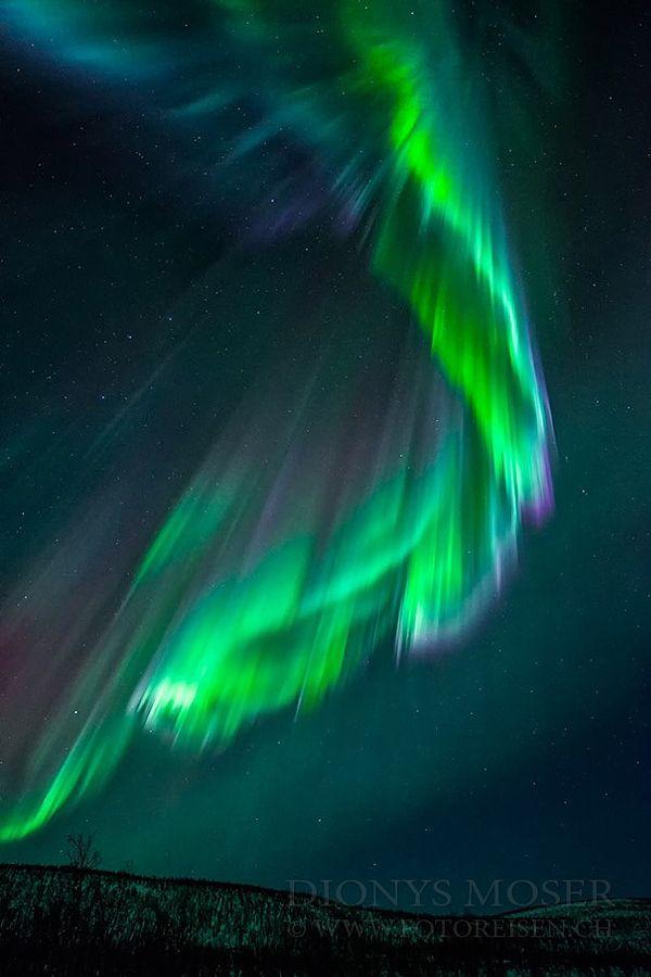 "etherealvistas: ""cosmic strike (Norway) by Dionys Moser    Website    Facebook """