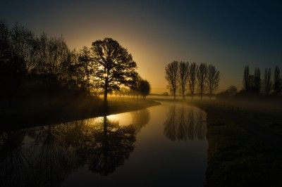 Photo Winter, morning, winter landscape