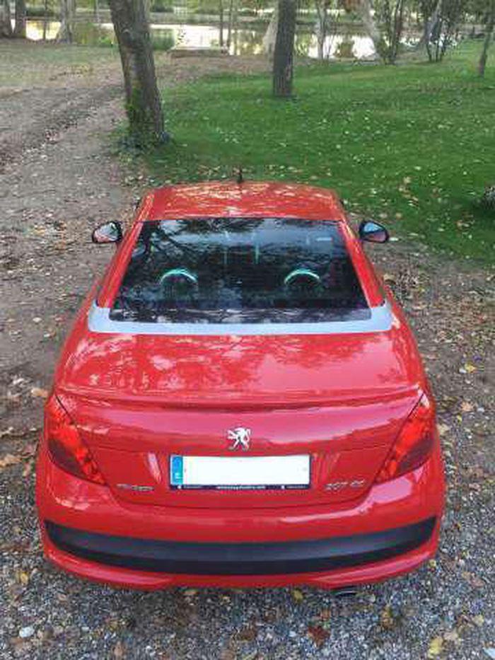Peugeot 207 Cc 1 6 Vti Descapotable O Convertible De Segunda Mano En Lleida Autocasion Peugeot Lleida Coches Segunda Mano