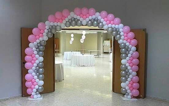 Balloon arch.. beautiful.. to complicated for me.......