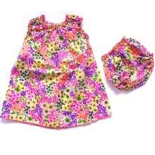 Φόρεμα & βρακάκι 'Άνθη'/σετ