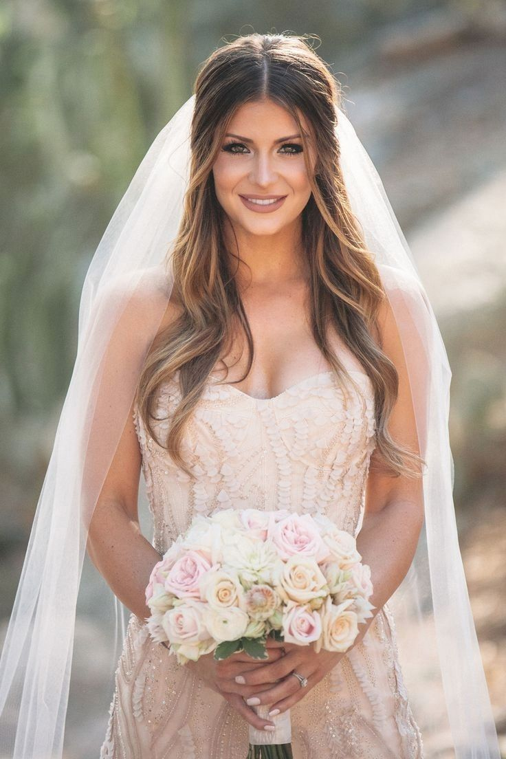 image result for hair half up front view | bridesmaid