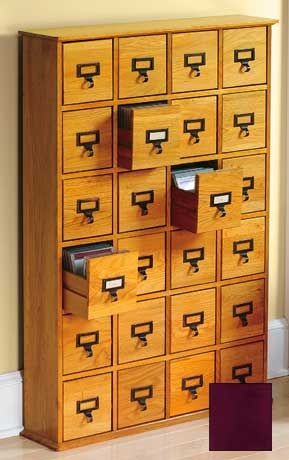 I've always been a sucker for old post office-style cabinets as they are perfect for craft/art storage.