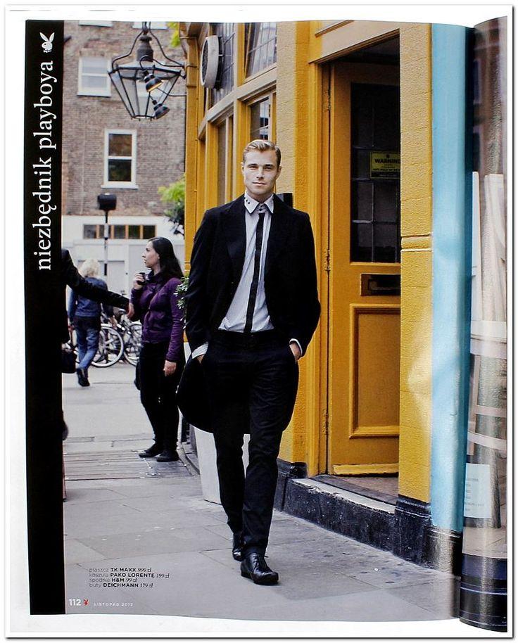 Koszula Pako Lorente, Sesja w Londynie, Portobello Road, dzielnica Notting Hill