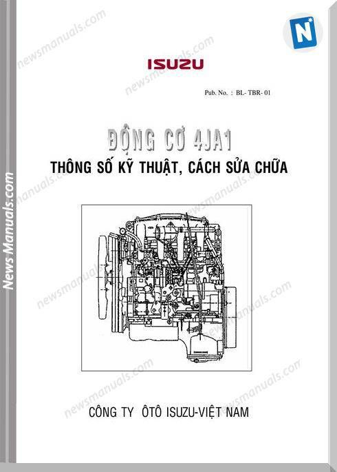 Isuzu 4jb1 Engine Specs