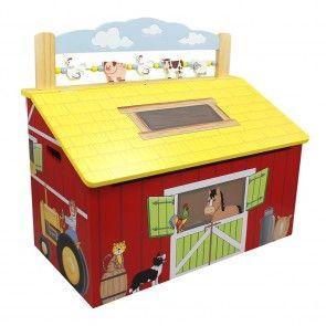 Fantasy Fields Happy Farm Toy Chest - TD-11326A