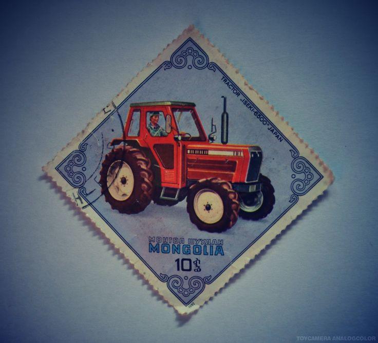 """Tractor """"Iseki-6500"""" Japan"""