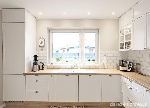 Kuchnia Drewniana Klasyczna Darex Szczecin Kitchen Kitchen Cabinets Flat Ideas