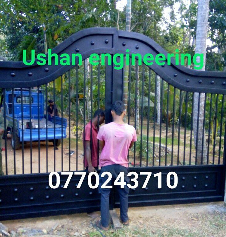 Gate design sri lanka | Steel gate design | Metal gate design