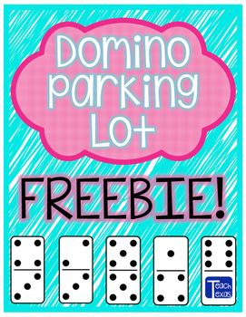 Use this differentiated Domino Parking Lot activity in an anchor station (a.k.a…