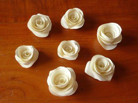 fiori di carta semplici e veloci - Cerca con Google