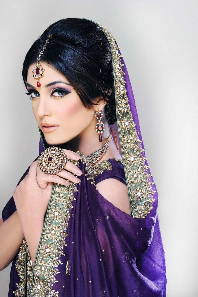 Deep, rich, majestic purple. Can never get enough. #indian #indianwedding #indianbride
