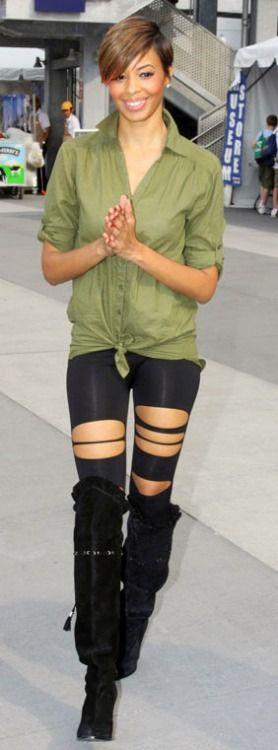 Vanessa Simmons #streetstyle