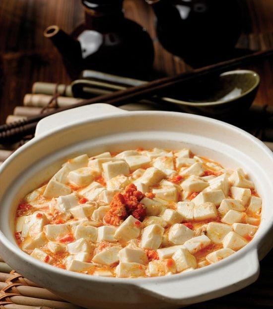 小南国的蟹粉豆腐~