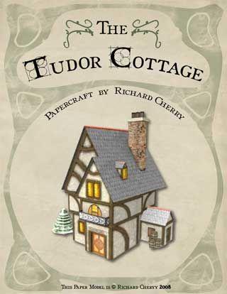 The Tudor Cottage Papercraft ~ Paperkraft.net - Free Papercraft, Paper Model, & Papertoy
