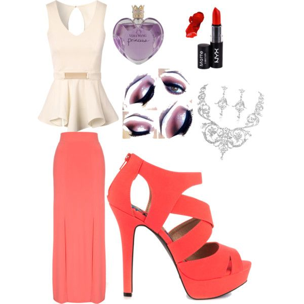 Untitled #2 by littleskate on Polyvore featuring polyvore, fashion, style, Jane Norman, Qupid, NYX and Vera Wang