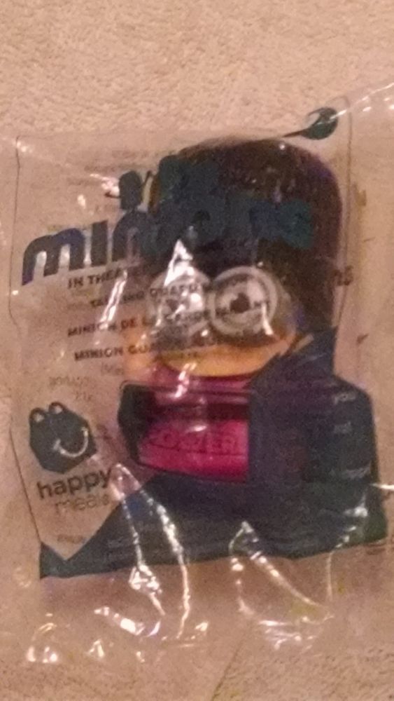 2015 mcdonald's minions talking guard minion toy #9 in package #McDonalds