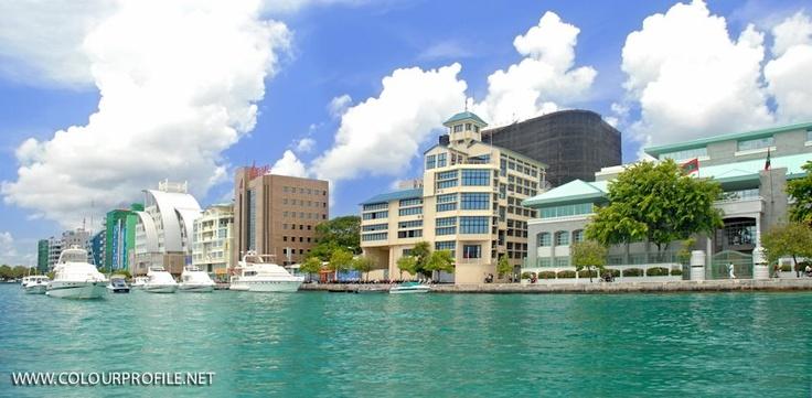 The capital of #Maldives :: Malé City