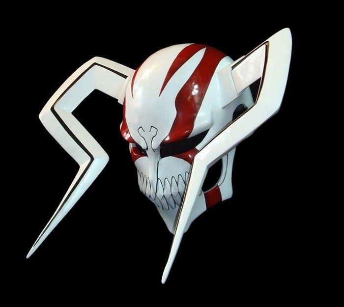 bleach ichigo hollow | Bleach Cosplay Accessories Ichigo Full Hollow Mask A(Deluxe Edition)