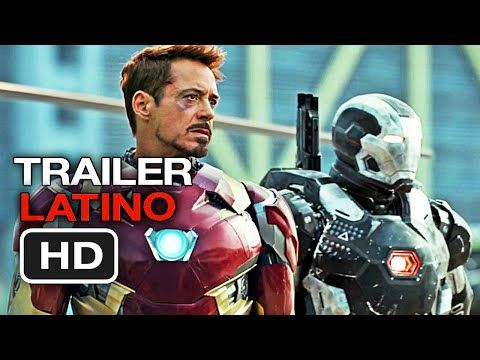 Capitan America: Civil War | Trailer en Español LATINO (HD) Robert Downey Jr. - YouTube