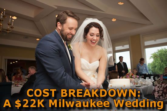 What's a $22,000 Milwaukee wedding look like? Click for the full cost breakdown of this Tripoli Country Club wedding in Milwaukee! Photo by Shannon Wucherer Photography.