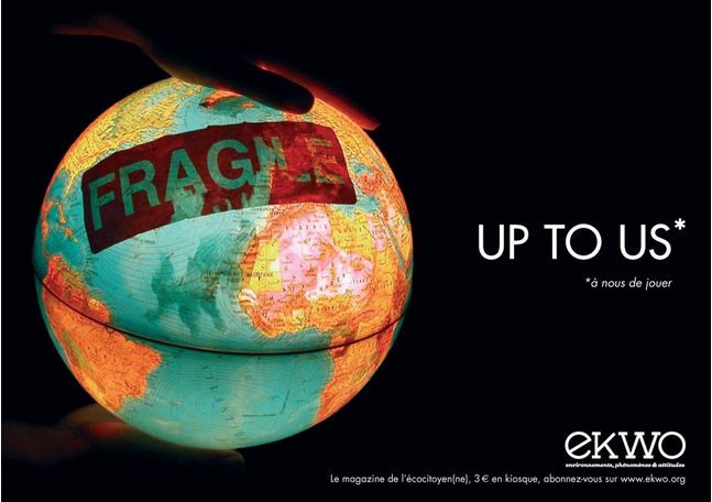 """Up to Us"". #Ekwo #Planet #GoodAd"