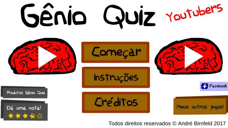 Genio Quiz Youtubers - Gênio Quiz