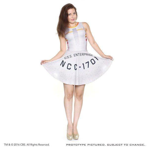 Galaxy Fantasy: Disfruta de la nueva línea de moda Star Trek con estos maravillosos vestidos